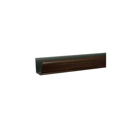 Wellingtan รางน้ำฝนอลูมิเนียมสีบลอนซ์ Alu Bronze
