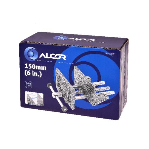 ALCOR แท่นจับชิ้นงาน 150MM. 6IN A216447 สีโครเมี่ยม