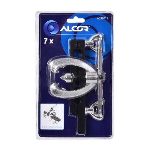 ALCOR เหล็กดูดลูกปืน 5-16MM. 7PC A338015