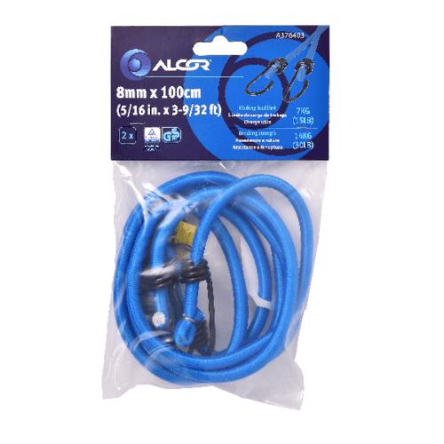 ALCOR สายรัดของ 100CM.x8MM. 7KGS. A376403 สีน้ำเงิน