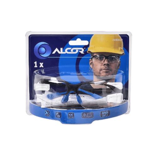 ALCOR แว่นตากันสะเก็ดแบบใส  A480021 สีขาว