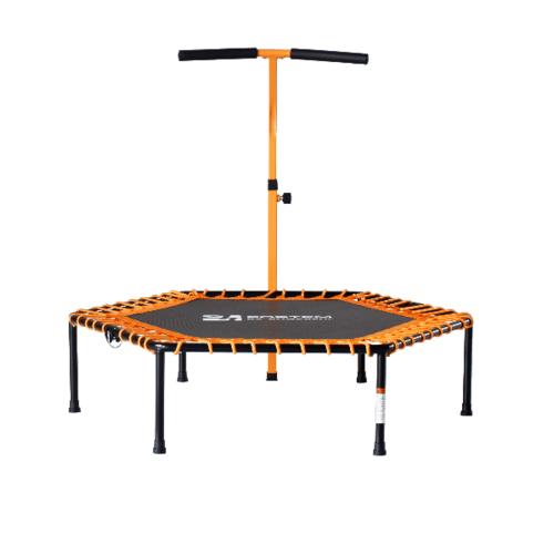 4TEM  แทมโพลีนพร้อมที่จับรูปตัว T Ø50  TX02  สีส้ม