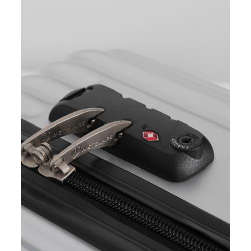 WETZLARS กระเป๋าเดินทาง PC ขนาด 28  นิ้ว A-9623S-3  สีเงิน