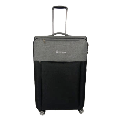 WETZLARS กระเป๋าเดินทางผ้า ขนาด 28 นิ้ว B-346BK-3   สีดำ
