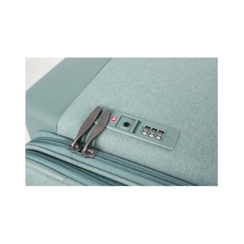 WETZLARS ชุดกระเป๋าเดินทางแบบผ้าสามชิ้น ขนาด 24 ATW005GN-2 สีเขียว