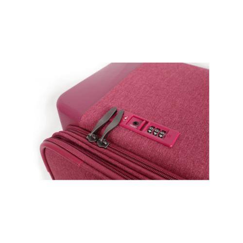 WETZLARS กระเป๋าเดินทางแบบผ้า ขนาด 20 นิ้ว  ATW001PK-1 สีชมพู