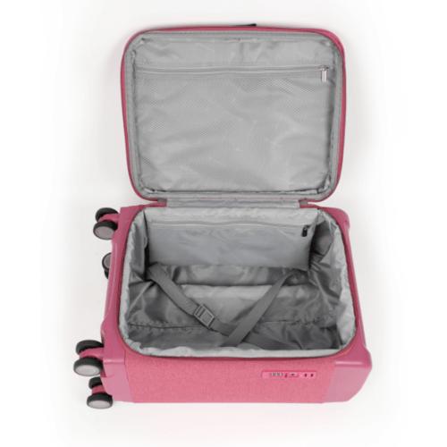 WETZLARS กระเป๋าเดินทางแบบผ้า ขนาด 24 นิ้ว ATW001PK-2  สีชมพู