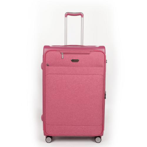 WETZLARS กระเป๋าเดินทางแบบผ้า ขนาด 28 นิ้ว  ATW001PK-3  สีชมพู