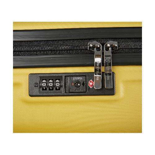 WETZLARS กระเป๋าเดินทาง ABS ขนาด 24 CTH0011-2 สีเหลือง