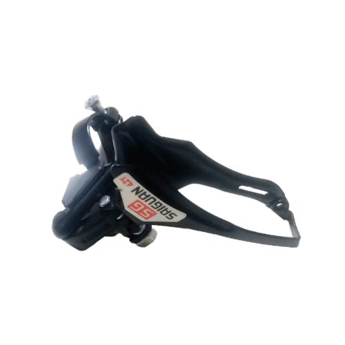 4TEM  เกียร์ด้านหน้าจักรยานเสือภูเขา 26นิ้ว ขนาด 9×10×7.5ซม.  MT007 สีดำ