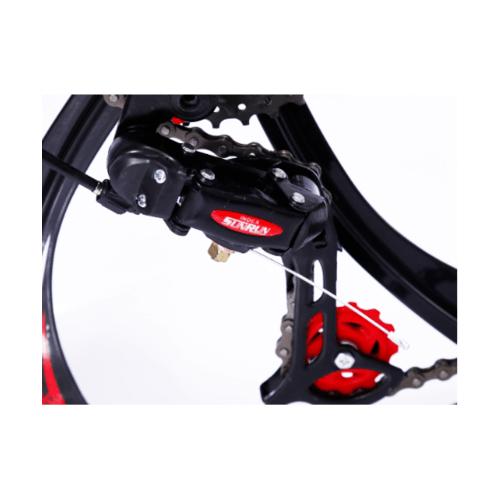 4TEM  เกียร์ด้านหลังจักรยานเสือภูเขา 26นิ้ว ขนาด 8×13×5ซม. MT008 สีดำ