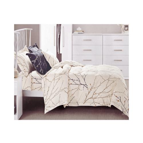 Truffle Essential  ชุดผ้าปูที่นอน 4 ชิ้น ขนาด 6 ฟุต JZ46 สีเบจ
