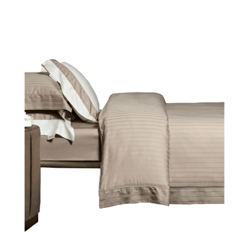 Truffle ชุดผ้าปูที่นอนcotton 100% 4ชิ้น  ขนาด 6 ฟุต  106-1-2 สีเบจ
