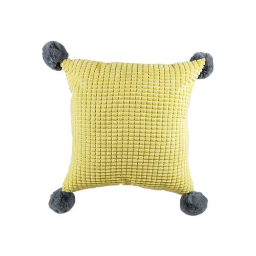 COZY  หมอนอิง ขนาด 43×43×8ซม. CY32 สีเหลือง