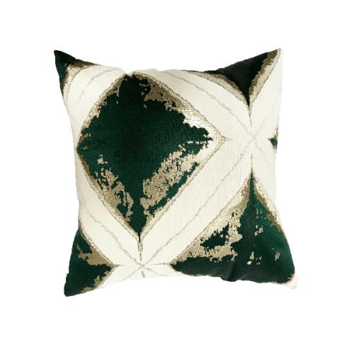 COZY หมอนอิง ขนาด 43×43×8ซม. CY16 สีเขียว
