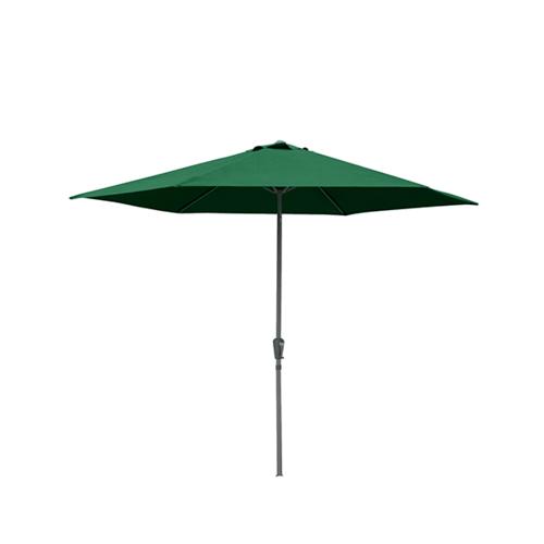 SUMMER SET ร่มสนาม Rauna ขนาด 270×270×260 ซม. สีเขียวเข้ม JM26G