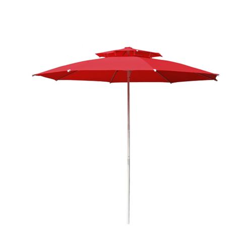 SUMMER SET  ร่มสนาม Kaawa ขนาด 270×270×250 ซม.  JM34R สีแดง