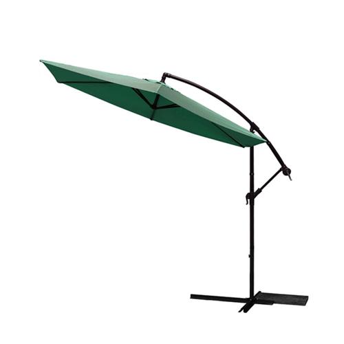 SUMMER SET  ร่มสนาม Bonega ขนาด 300×300×200 ซม.  สีเขียวเข้ม  (ไม่รวมแผ่นถ่วงน้ำหนัก) JM25G