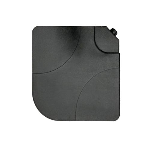 SUMMER SET  แผ่นถ่วงน้ำหนักร่มสนาม Ikaika ขนาด50×50×7.5 ซม.  JM29 สีดำ