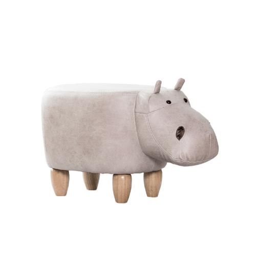 Delicato เก้าอี้สตูลรูปสัตว์  ขนาด 34×64×36ซม. Hippopotamus