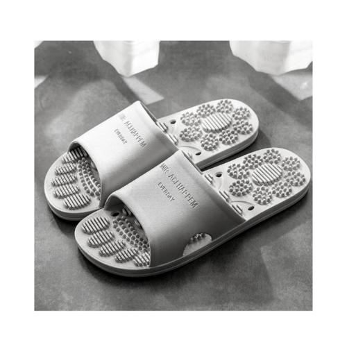 PRIMO รองเท้าแตะ  PVC มีปุ่มนวด  เบอร์ 40-41 ZL013-GR401 สีเทา