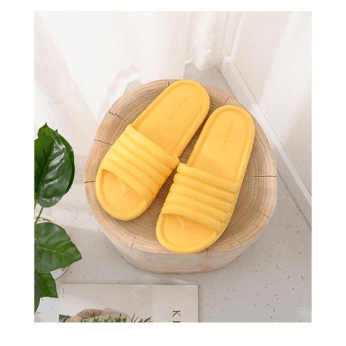 PRIMO  รองเท้าแตะ EVA เบอร์ 36-37 FS009-YE367 สีเหลือง
