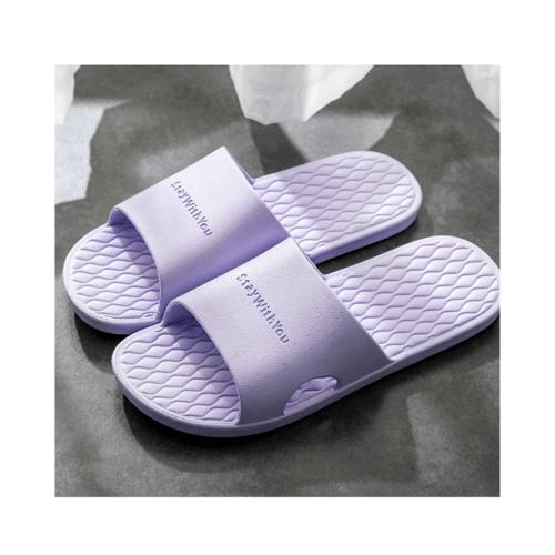 PRIMO  รองเท้าแตะ PVC  เบอร์ 38-39 ZL003-PP389 สีม่วง