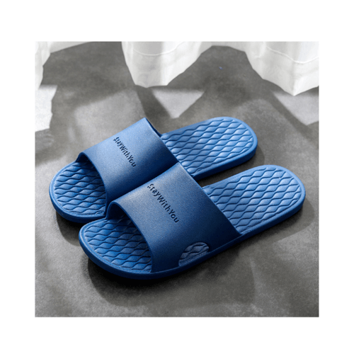 PRIMO  รองเท้าแตะ PVC เบอร์ 42-43 ZL004-DBL423  สีน้ำเงิน