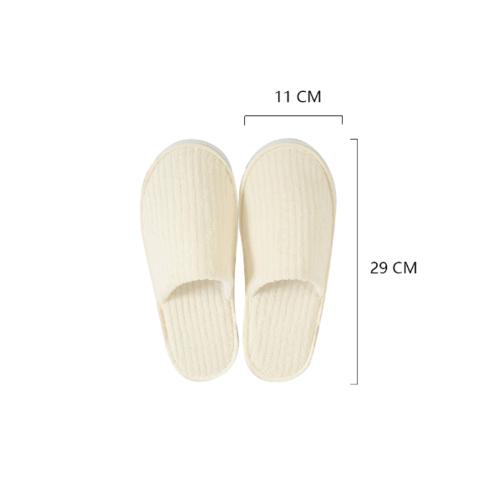COZY รองเท้าแตะโรงแรม ขนาด11×29×0.65 ซม. LL07 สีเบจ
