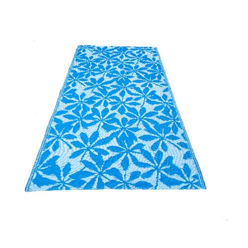COZY เสื่อม้วนปูพื้นอเนกประสงค์ขนาด 90x180x0.5 ซม.    TS240  สีฟ้า