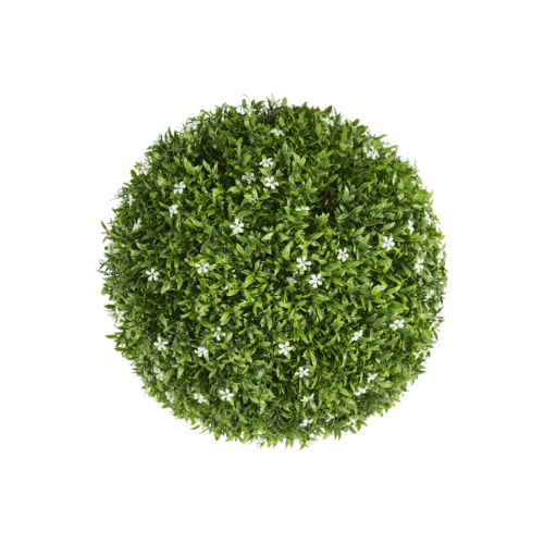 Tree O ต้นไม้เทียมทรงกลม ขนาด 33×33×33 ซม.  MZ185016A สีเขียว