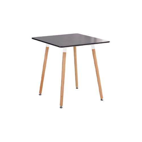Delicato โต๊ะกาแฟทรงเหลี่ยม ขนาด 80X75CM   M1001  สีดำ