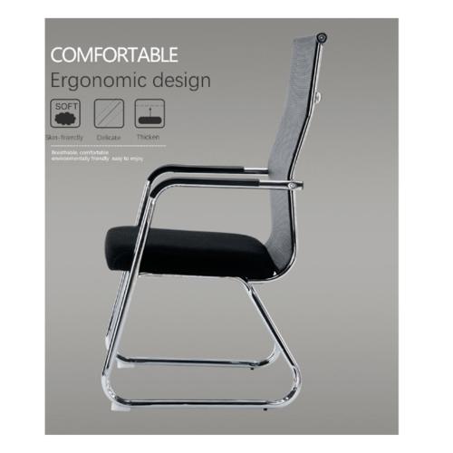 SMITH เก้าอี้ห้องประชุม ขนาด 52X55X105ซม. ZG02 สีดำ