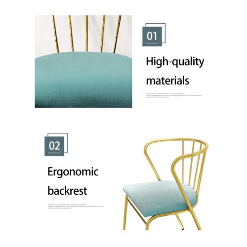 Pulito  เก้าอี้ 47×55×76cm  SQ014 สีเขียว