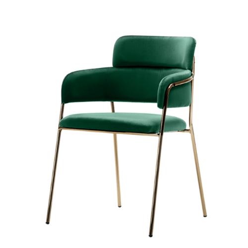 Pulito เก้าอี้ ขนาด 46×56×81cm. SQ017 สีเขียว