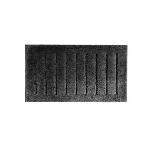 COZY พรมเช็ดเท้า 50×80×1.5 ซม.  DK17 สีดำ