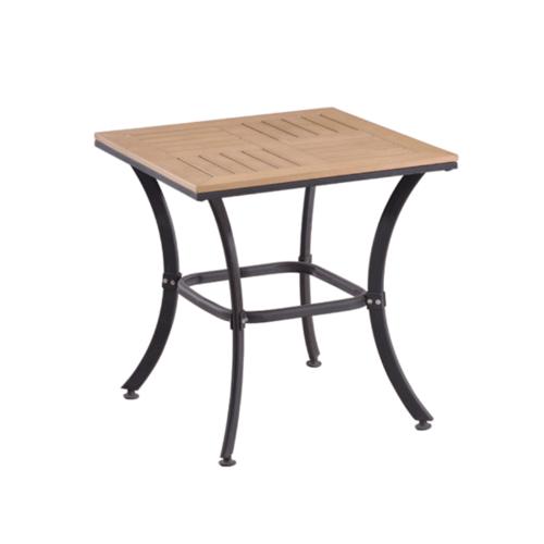 Delicato โต๊ะสนาม 2 ที่นั่ง ขนาด 60X60X65 ซม. สีไม้ HB01