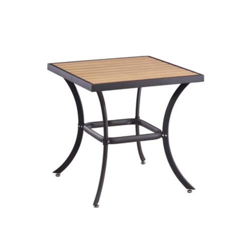 Delicato โต๊ะสนาม 4 ที่นั่ง ขนาด70×70×73ซม.   HB07 สีไม้