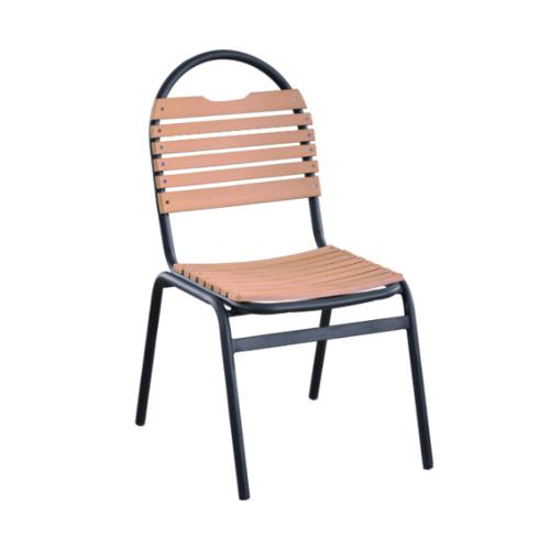 Delicato เก้าอี้สนาม  ขนาด43×59×91ซม. สีไม้ HB08
