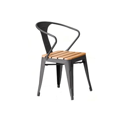 Delicato เก้าอี้สนาม ขนาด54×55×77ซม. HB16 สีไม้
