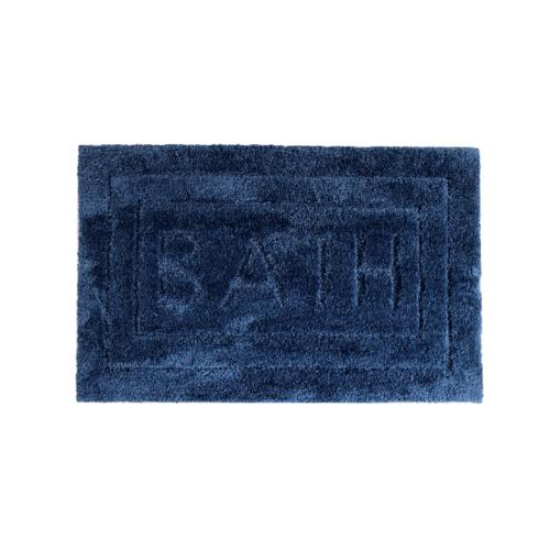 COZY พรมเช็ดเท้า 50×80×1.8ซม.  DK27 สีน้ำเงิน