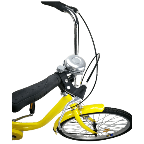 MASDECO จักรยานสามล้อผู้ใหญ่ ขนาด 24 นิ้ว ตระกร้าใหญ่ BL002 YL เหลือง
