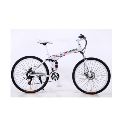 FORTEM จักรยานเสือภูเขา พับได้ 26นิ้ว  MT10-WH26 สีขาว