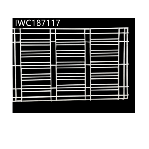 ลินเนียร์ เหล็กดัดครอบหน้าต่าง ขนาด 180x110cm(กxส)  IWC187117 สีขาว