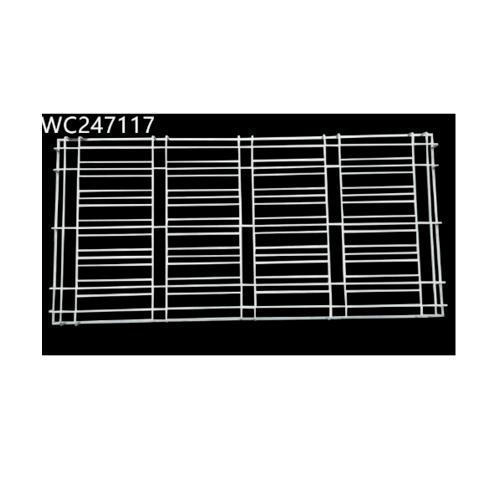 ลินเนียร์ เหล็กดัดครอบหน้าต่าง ขนาด 240x110 cm (กxส) IWC247117 สีขาว