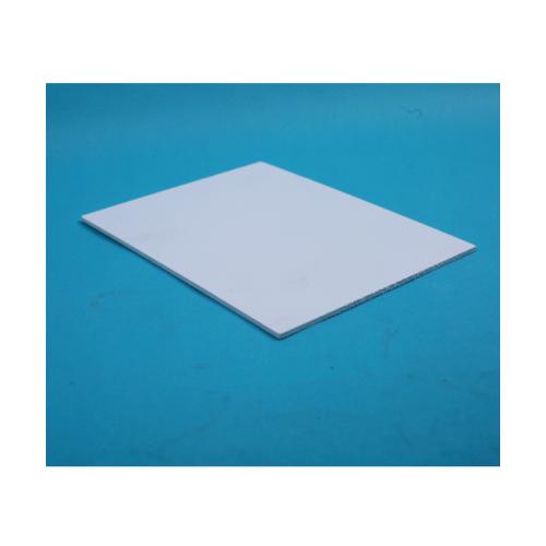 Lisse แผ่นพลาสวูดเรียบ ขนาด120*240*0.4 HY-103 สีขาว