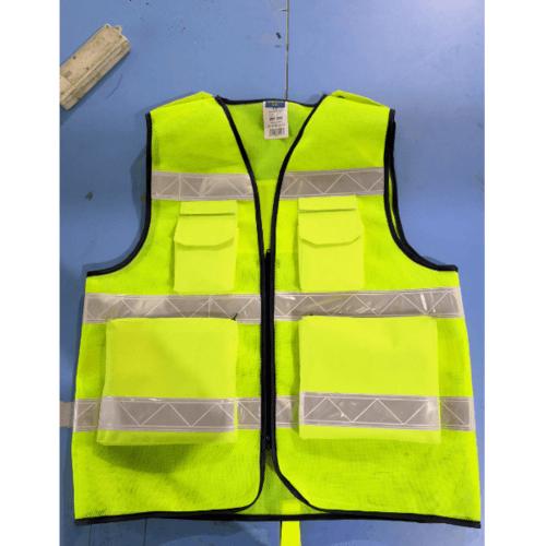 Protx เสื้อจราจรสะท้อนแสง ขนาด L   W0042-HBL ขนาด L   สีเหลือง