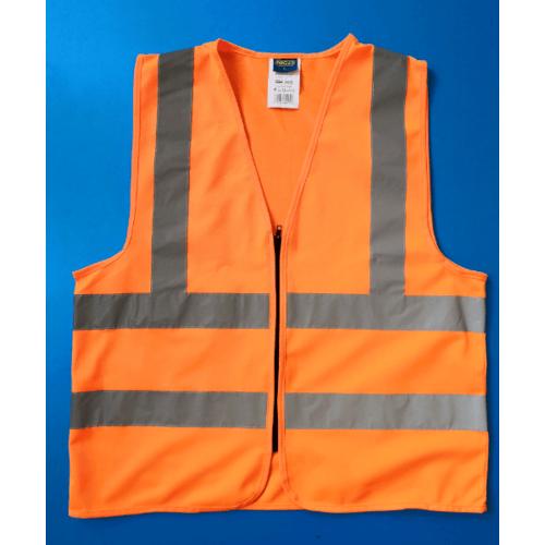 Protx เสื้อจราจรสะท้อนแสง ขนาด L   Z0007-J2L  สีส้ม
