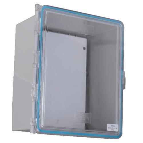 V.E.G ตู้กันน้ำฝาใส 910   TS003-GT สีเทาอ่อน