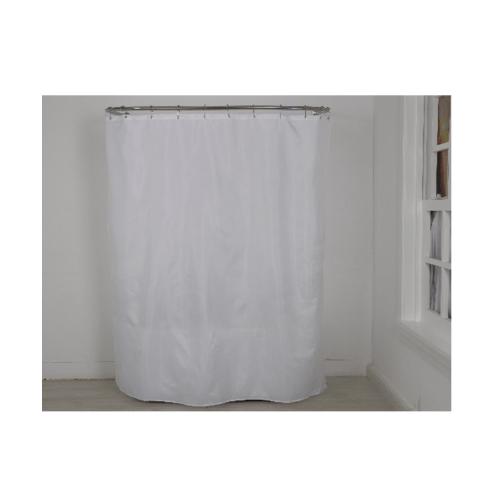PRIMO ม่านห้องน้ำโพลีเอสเตอร์   DDF010-WH ขนาด 180x180 cm สีขาว